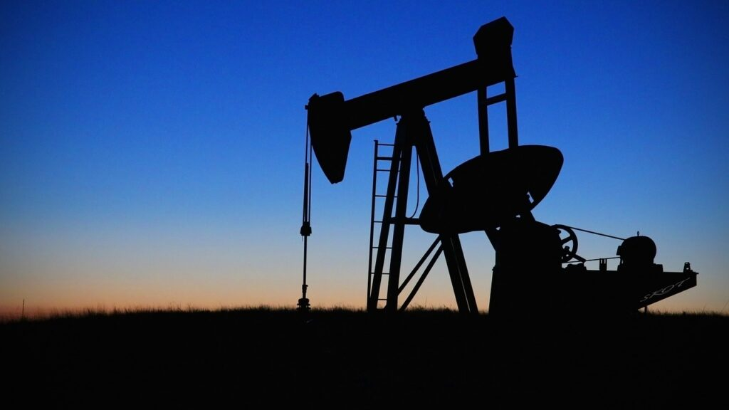 pump jack, oilfield, oil